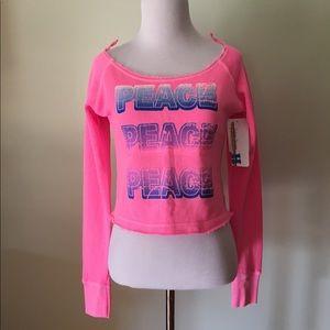 Vintage Havana pink sweatshirt kids size 12-14